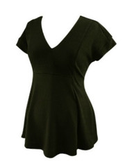 *New* Black Peplum A Pea in the Pod Maternity Career Top