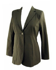 *New* Black Wool Blend A Pea in the Pod Maternity Collection Maternity Career Blazer (Size Small)