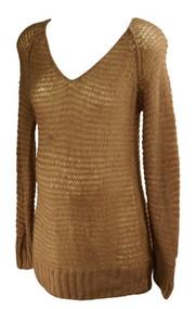 *New* Metallic Mauve Motherhood Maternity Knit Maternity Sweater (Size Medium)