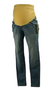 *New* Steel Blue Celebrity Pink Maternity Skinny Jeans for A Pea in the Pod Collection Maternity (Size Medium)