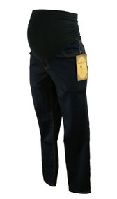 *New* Dark Blue Vanilla Straight Leg Maternity Jeans for Destination Maternity (Size Medium)