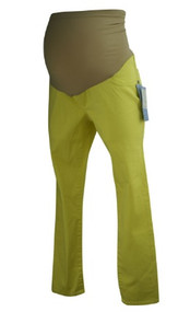 *New* Lemon Motherhood Maternity Full Panel Neon Maternity Cropped Capri Skinny Jeans