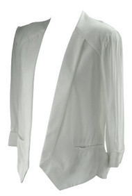 *New* White Ella Moss for A Pea in a Pod Collection Maternity Career Maternity Blazer (Size Large)