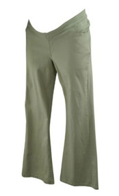 Cream JW Japanese Weekend Maternity Casual Pants (Like New - Size Large)