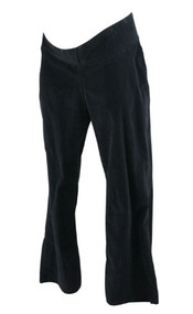 Black JW Japanese Weekend Maternity Corduroy Maternity Pants (Gently Used - Size Large)