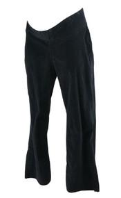 Black JW Japanese Weekend Maternity Corduroy Maternity Pants (Gently Used - Size Large)