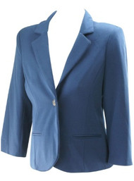 *New* Blue A Pea in the Pod Maternity Career Maternity Blazer (Size Large)