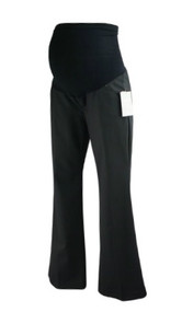 *New* Black A Pea in the Pod Maternity Full Panel Maternity Boot Cut Maternity Career Pants (Size X-Small)