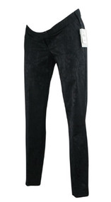 *New* Floral Black Imprint A Pea in the Pod Maternity Skinny Leg Maternity Pants (Size Small)