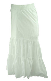 *New* White A Pea In The Pod Maternity Maternity Summer Maxi Skirt