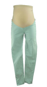 Sea Green J Brand for A Pea in the Pod Collection Maternity Skinny Leg Maternity Jeans (Like New - Size 30)