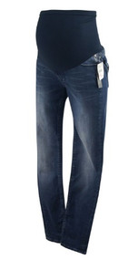 *New* Blue Vigoss Studio for A Pea in the Pod Maternity Straight Leg Maternity Jeans (Size Small)