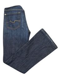 *New* Medium Wash A Pea in the Pod Maternity Full Panel Straight Leg Maternity Jeans (Size 27 Petite)