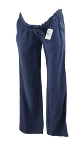 *New* Washed Navy Sanctuary Clothing for A Pea in the Pod Collection Maternity Boot Cut Maternity Pants (Size 27)