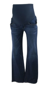 *New* Denim Blue A Pea in the Pod Maternity Boot Cut Maternity Jeans (Size Petite Small)