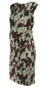 *New* Chain Loop Design Donna Morgan for A Pea in the Pod Collection Maternity Special Occasion Maternity Dress with Exposed V-Neck Back (Size Large)