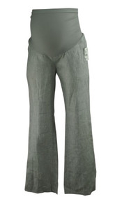 *New* Neutral Linen Pinstripe A Pea in the Pod Maternity Career Maternity Pants (Size X-Small)