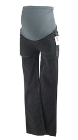 *New* Charcoal A Pea in the Pod Maternity Skinny Boot Cut Corduroy Maternity Pants (Size X-Small)