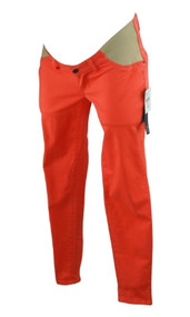 *New* Orange A Pea in the Pod Maternity Skinny Fit Side Panel Maternity Jean (Size Small)