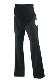 "*New* Black A Pea in the Pod Maternity Boot Cut ""Khaki"" Full Panel Maternity Pants (Size X-Small)"
