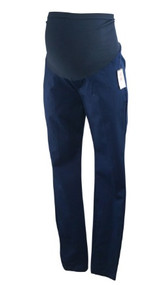 "*New* Navy A Pea in the Pod Maternity Full Panel ""Khaki"" Maternity Pants (Size X-Small)"