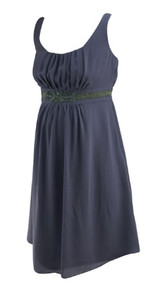 *New* Muted Lilac A Pea in the Pod Maternity Belted Embellished Waist Special Occasion Maternity Dress (Size Small)