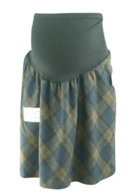 "*New* Diamond Print A Pea in the Pod Collection Maternity ""Secret Fit Belly"" Winter Maternity Skirt (Size Large)"