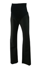 *New* Black A Pea In The Pod Maternity Full Panel Slim Fit Boot Cut Maternity Career Pants