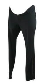 *New* Black A Pea in the Pod Maternity Underbelly Cropped Skinny Cut Maternity Pants (Size Large)