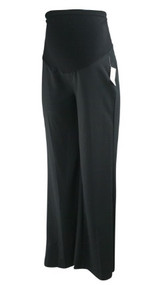 *New* Black Oh Baby! Maternity for Motherhood Maternity Boot Cut Maternity Pants (Size Small)