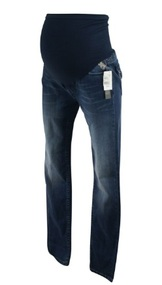 *New* Medium Wash Full Panel Skinny Maternity Jeans by Vigoss Studio for A Pea in the Pod Collection Maternity (Size Small)