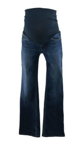 Blue Boot Cut Maternity Jeans by Joe's Maternity Jeans for A Pea in the Pod Collection Maternity (Gently Used - Size W 26)