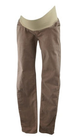 *New* Light Brown !IT Jeans for A Pea in the Pod Collection Maternity Straight Leg Corduroy Maternity Pants (Size 30 W)