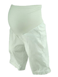 *New* White A Pea in the Pod Maternity Full Panel Maternity Shorts (Size X-Small)