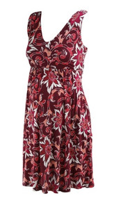 Ruby Loft Maternity Floral Print Casual Flowy Maternity Dress (Gently Used - Size X-Small)