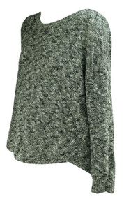 Dirty Gray Vince for A Pea in the Pod Collection Maternity Casual Maternity Sweater (Like New - Size Large)