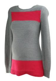 *New* Gray A Pea in the Pod Maternity Thick Winter Maternity Sweater (Size Small)