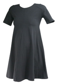 Black Imanimo Maternity Casual Maternity Tunic (Mini Dress) with Hidden Pockets (Gently Used - Size X-Small)