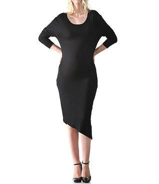 Black Madeleine Studio 18 Maternity Scoop Neck Parker Maternity Dress Like New Size X Large Motherhood Closet Maternity Consignment