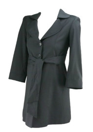 Black Eva Alexander Maternity Career Maternity Blazer (Like New - Size X-Small)