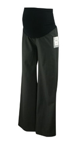 *New* Dark Gray A Pea in the Pod Maternity Wide Leg Dressy Maternity Pants (Size X-Small)