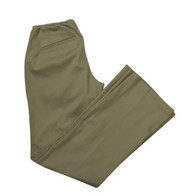 *New* Beige Motherhood Maternity Boot Cut Khaki Maternity Pants (Size Petite X-Small)