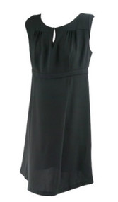 *New* Black A Pea in the Pod Maternity Pleated Career Cap Sleeve Maternity Dress (Size Large)