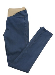 Ash Blue Skinny Maternity Jeans by AG Adriano Goldschmied for A Pea in the Pod Collection Maternity (Like New - Size 26)