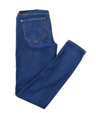 Denim Blue Genetic Denim by A Pea in the Pod Collection Maternity Skinny Jeans (Like New - Size 27)