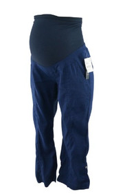 *New* Indigo A Pea in the Pod Maternity Full Panel Casual Maternity Lounge Capris with Adustable Leg (Size Small)