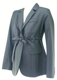 *New* Charcoal A Pea in the Pod Maternity Single Button Career Maternity Blazer (Size Small)