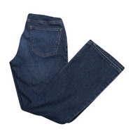 Blue Indigo Blue Maternity Boot Cut Maternity Denim Jeans (Gently Used - Size Small Petite)