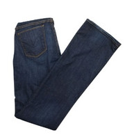 Denim Blue Boot Cut Maternity Jeans by Hudson Jeans for A Pea in the Pod Collection Maternity (Gently Used - Size 27)