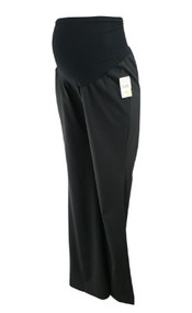 *New* Black Wool Mix A Pea in the Pod Collection Maternity Career Maternity Pants (Size Medium)